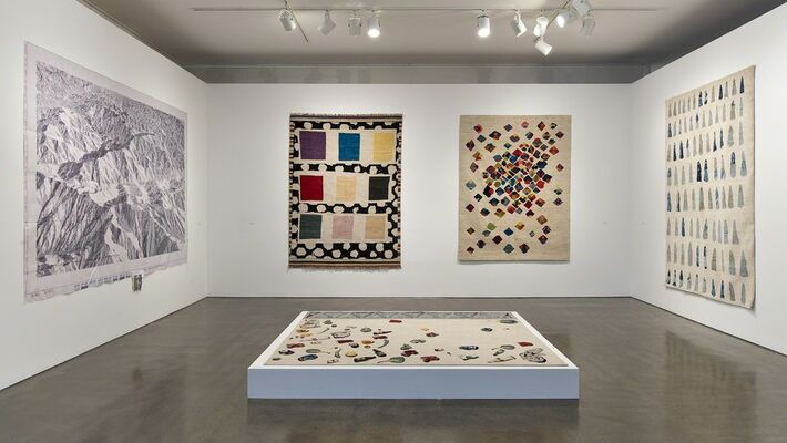 The Afghan Carpet Project, installation view