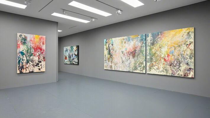José Parlá: Echo of Impressions, installation view