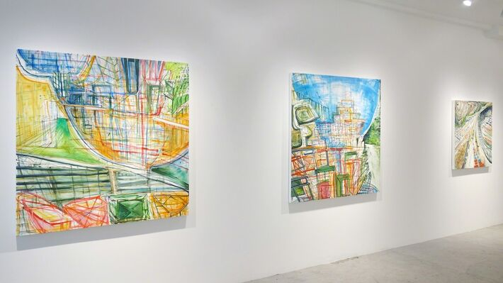 Judith Belzer: Canal Zone: Recent Work from the Panama Project, installation view