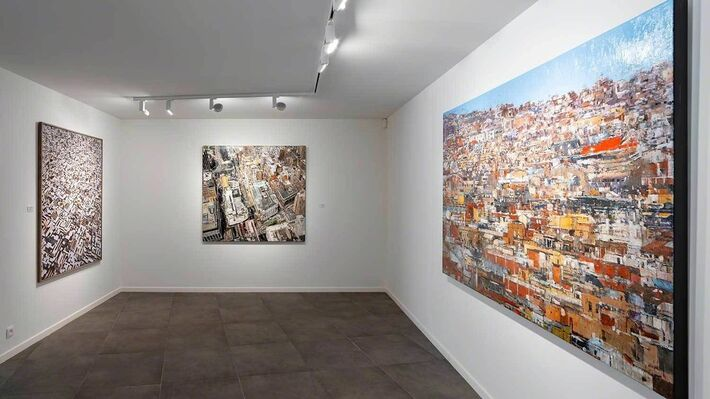 Official opening of the new gallery in Brussels, installation view