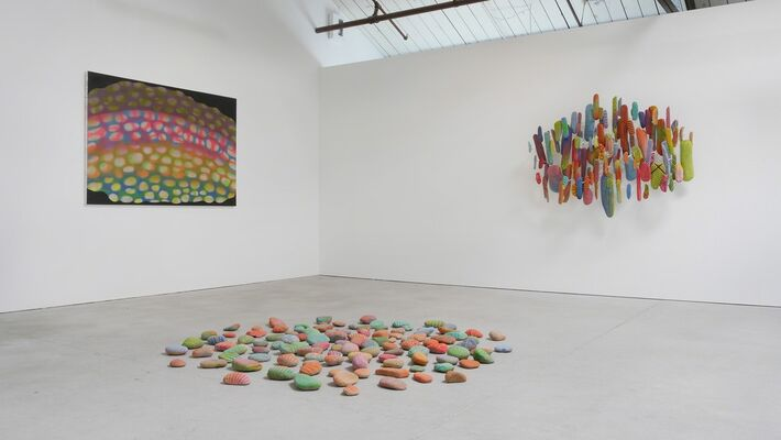 Leo Bersamina and David Huffman, installation view