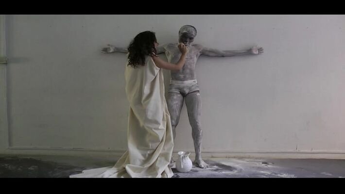 TIME is Love.9: Video art screening, curated by Kisito Assangni, installation view