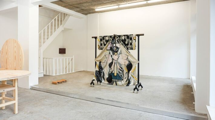 MANIERA 09 & 10: Sophie Nys & Valérie Mannaerts, installation view