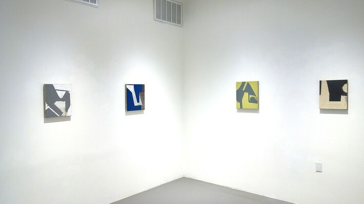 Michael Voss: eight paintings, installation view