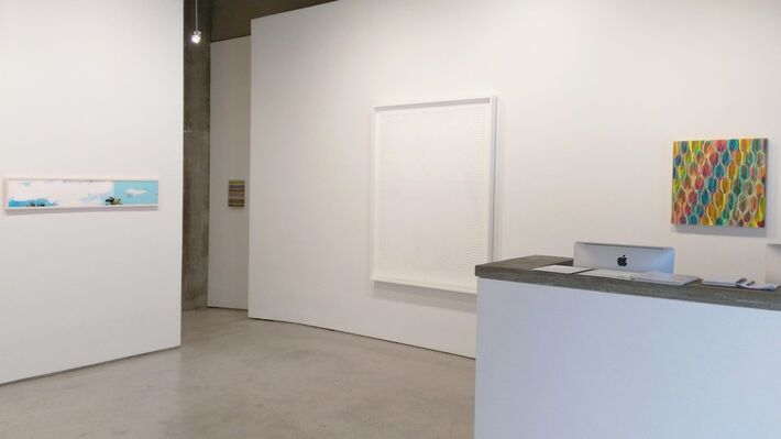 Hoping for Clear Skies, installation view