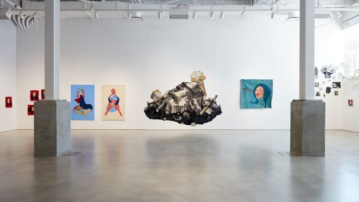 Look up here, I'm in heaven, installation view