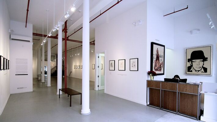Andy Warhol: Drawn to Dance, installation view