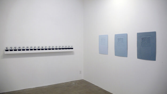 Bunny Burson: Rise, installation view