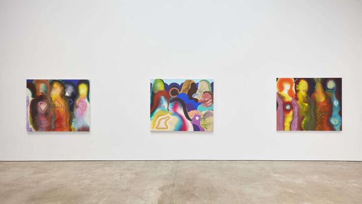 "Aaron Johnson ""Cosmic Devotion"", installation view"