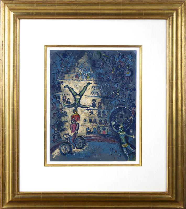 Marc Chagall, 'Le Cirque', 1967, Print, Color lithograph on Vélin d'Arches paper, Galerie Michael