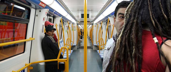 Pablo Zuleta Zahr, 'Madrid Subway Line 9', 2010