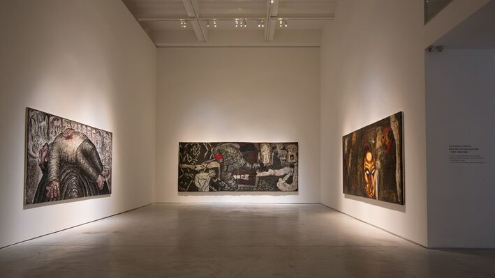 Divergent Paths to Reality 1980–2011, installation view