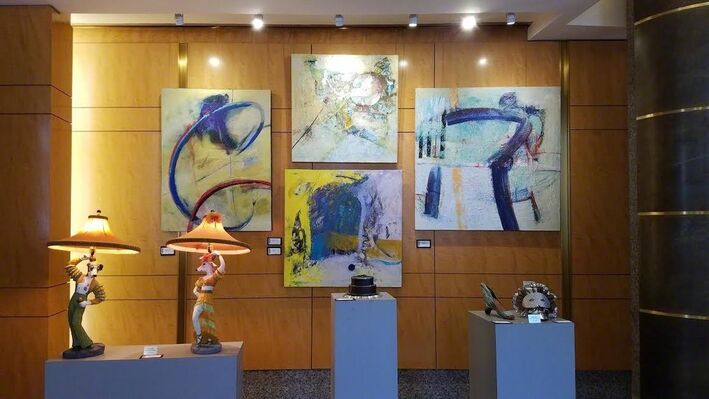 40th Anniversary: Zenith Comes of Age: 24 years at 413 7th St, NW, installation view