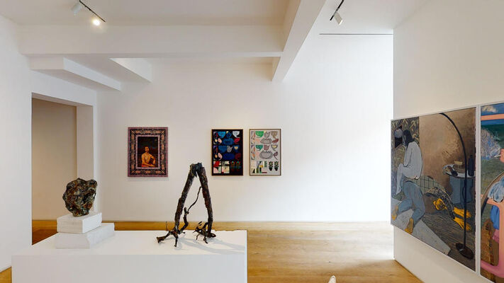 All the days and nights, installation view