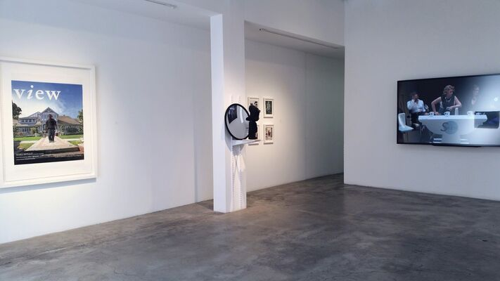 Ha Ha! Business!, installation view