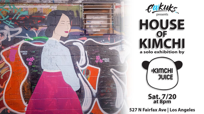 HOUSE OF KIMCHI: a solo exhibition by Kimchi Juice (Julia Chon), installation view