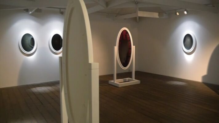 Paul Benney 'Scrying Mirror', installation view