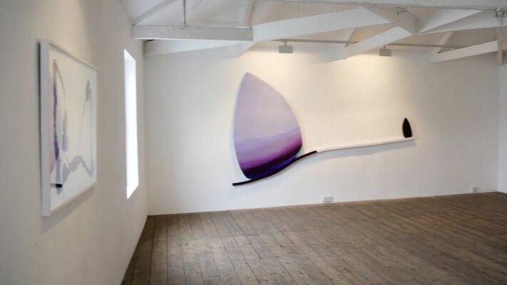 Trevor Bell 'Beyond the Edge', installation view