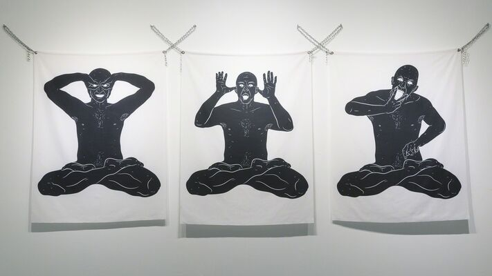 The Brown Dabble by Muhammad Izdi, installation view