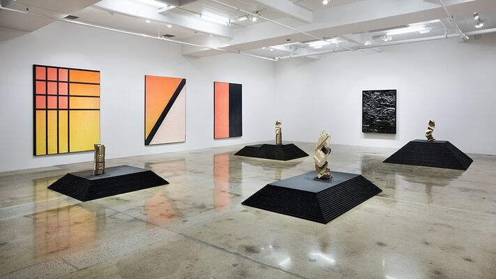 Anytime Anywhere, installation view