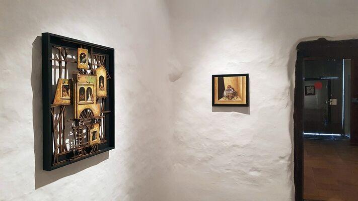 Rubén Alpízar - Crónicas del Paraíso, installation view