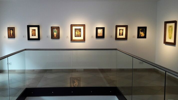 ALFONS WALDE - NUDES, installation view
