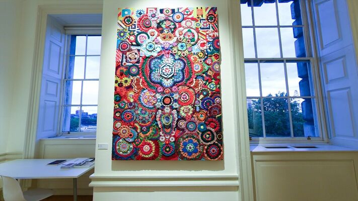 Lawrie Shabibi at 1-54 London 2018, installation view
