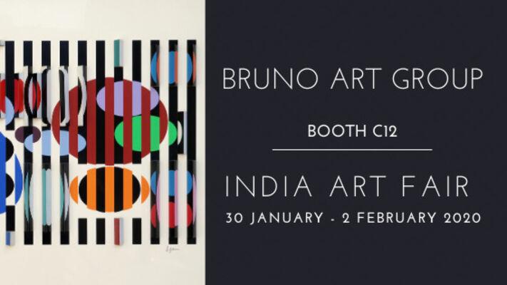 Bruno Art Group  at India Art Fair 2020, installation view