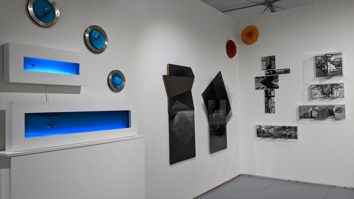 GALLERyLABs at SCOPE Miami Beach 2019, installation view