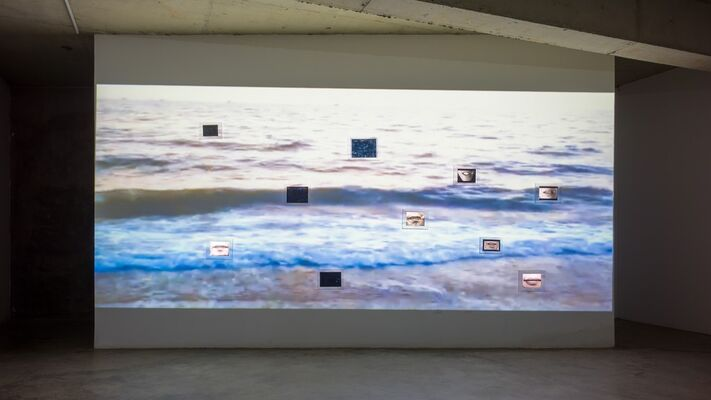 Surpassing r=a(1-sinθ), installation view