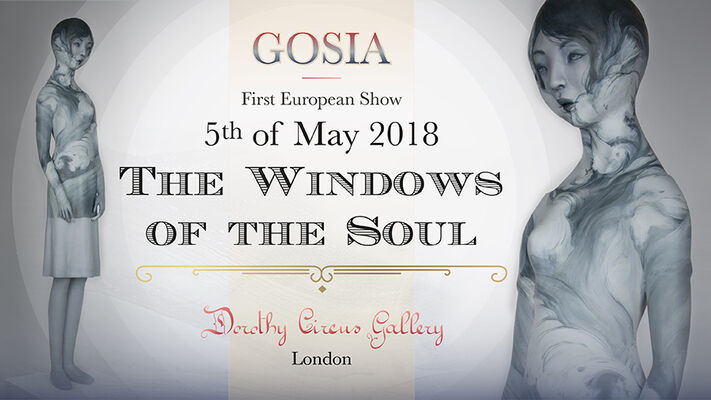 Gosia: The Window of the Soul, installation view