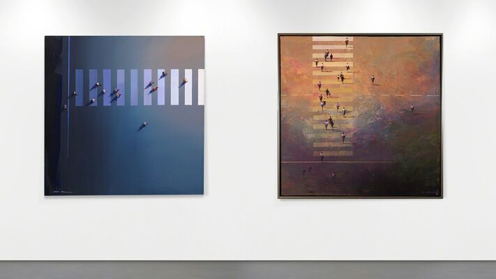 Mel Brigg - Ocean & Earth, installation view
