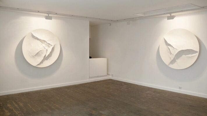 Simon Allen 'White', installation view