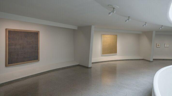 Agnes Martin, installation view
