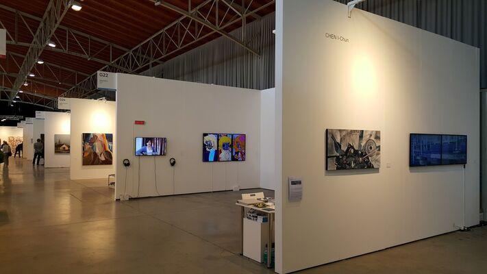 Liang Gallery at viennacontemporary 2016, installation view