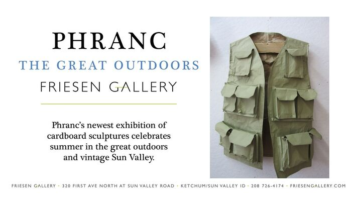 Phranc | The Great Outdoors, installation view