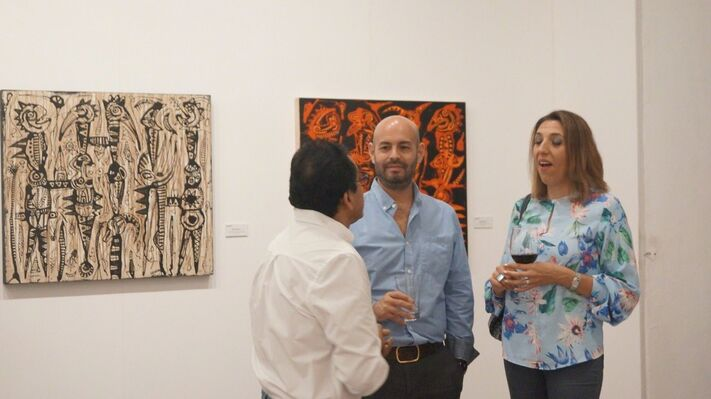 Panorama de lo Diverso: Arte Actual, installation view