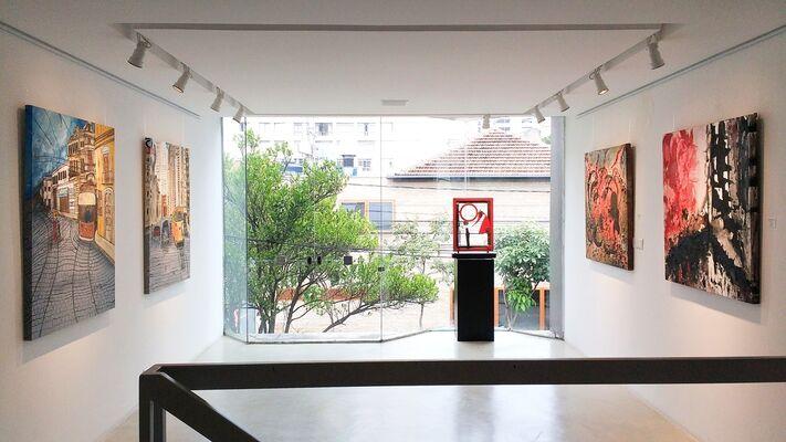 São Paulo 24 Horas, installation view