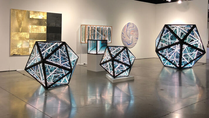 Melissa Morgan Fine Art at Art Palm Springs 2020, installation view