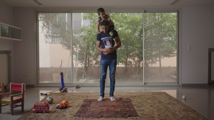 Akram Zaatari: The Script, installation view