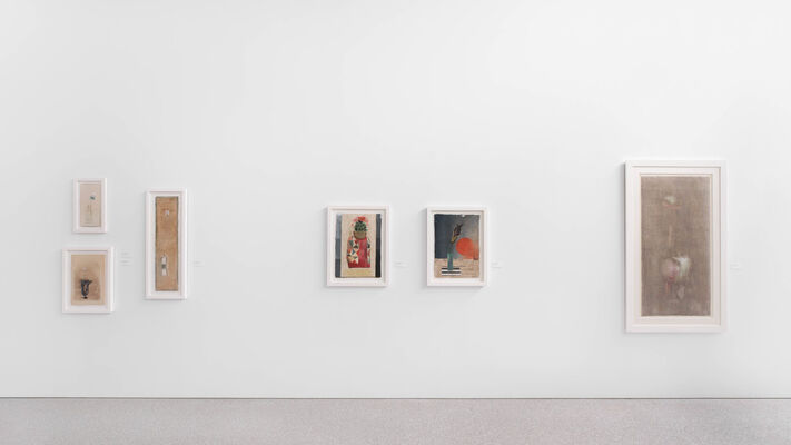 Calix, Cup, Chalice, Grail, Urn, Goblet: Presenting the Sexual Essence of Morris Graves, installation view