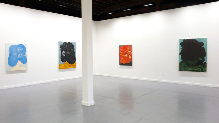 Richard Hull: Recent Paintings, installation view
