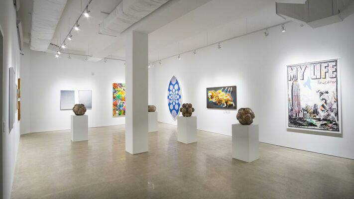 Library Street Collective Presents, installation view