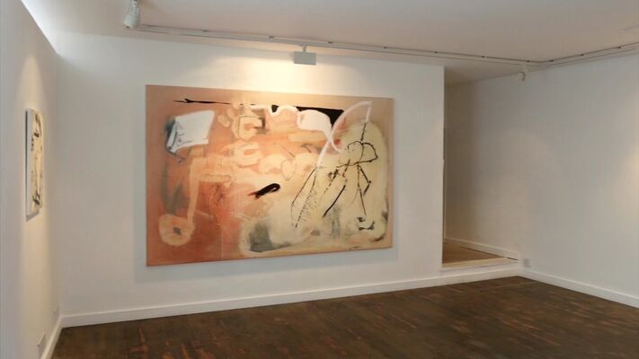 Arthur Lanyon 'Return to the Whale', installation view