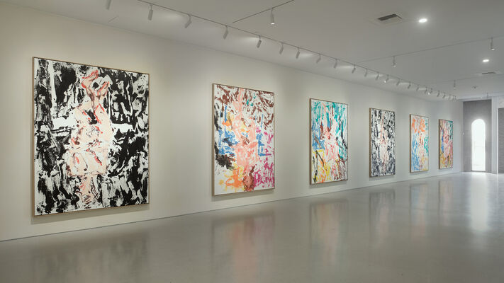 Georg Baselitz: What if..., installation view