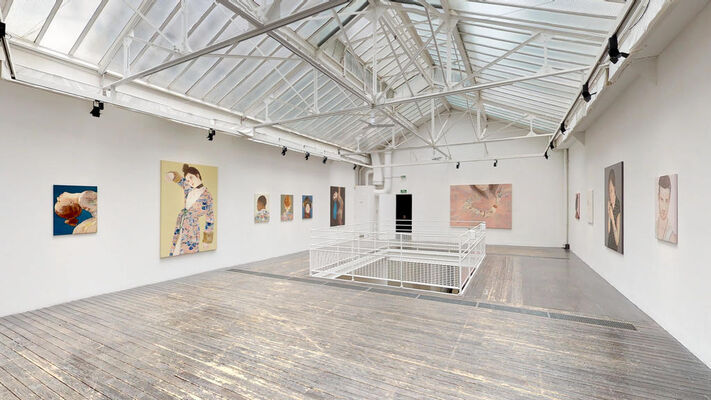 Katinka Lampe / Instadentity, installation view
