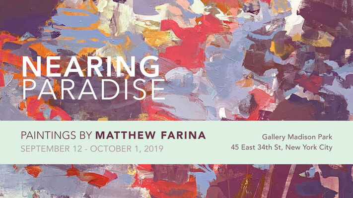 Nearing Paradise: Paintings by Matthew Farina, installation view