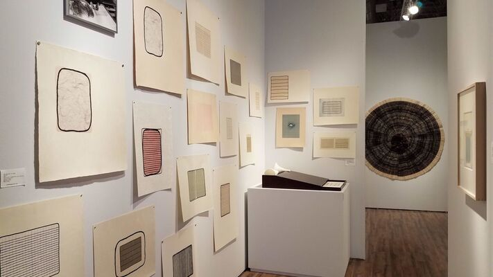 Long-Sharp Gallery at EXPO CHICAGO 2018, installation view
