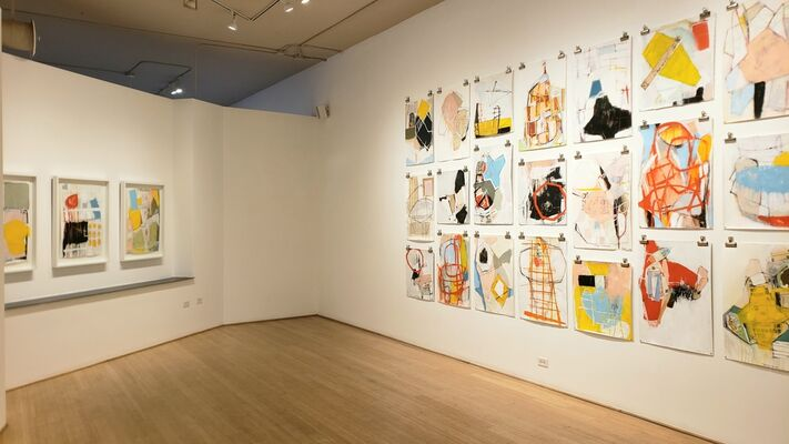 Kelton Osborn A Moment | New Works on Paper, installation view