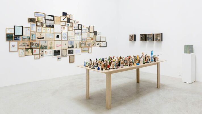 Why My Drawing Comes from The West, installation view